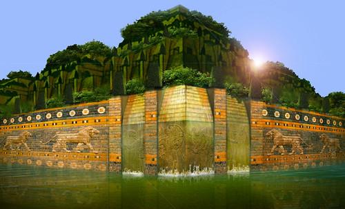 "Jardines colgantes de Babilonia • <a style=""font-size:0.8em;"" href=""http://www.flickr.com/photos/30735181@N00/8745407424/"" target=""_blank"">View on Flickr</a>"