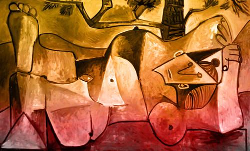 "Majas, homenajes de Francisco de Goya y Lucientes (1802), Eugéne Delacroix (1826), Amadeo Modigliani (1916), Pablo Picasso (1906), (1931), (1959), (1964). • <a style=""font-size:0.8em;"" href=""http://www.flickr.com/photos/30735181@N00/8746853563/"" target=""_blank"">View on Flickr</a>"