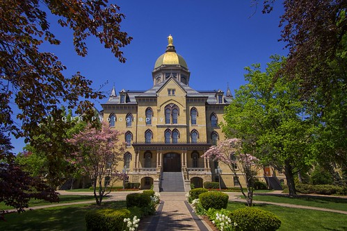 University of Notre Dame Administration Building