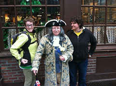 We met Benjamin Franklin in Boston! (wren egade) Tags: bex wren 2013