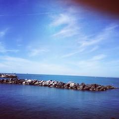 Livorno at seaside! (francesca giordano 3) Tags: sea mare lungomare livorno instagram