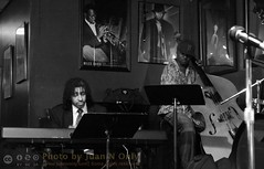 Phillip J. Hale and Greg Cook (Juan N Only) Tags: music monochrome blackwhite bass michigan detroit livemusic piano may jazz nightclub bassist grayscale bebop pianist berts johndouglas acousticbass electronicpiano hardbop 2013 gregcook criticismwelcome bertsmarketplace juannonly philliphale