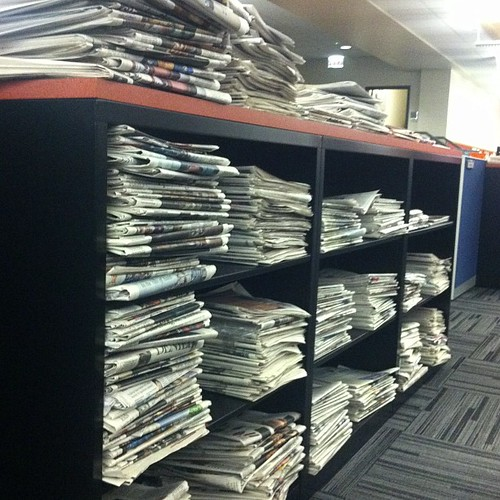 Newspapers at WBEZ