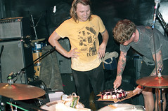 TY Segall (arterial spray) Tags: sanfrancisco birthday party music cake rock john hair drums concert punk candles nest eagle live garage ty tavern drummer roll oh sees thee segall fuzz dwyer psych segal reopening johndwyer theeohsees tysegal
