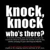 a knock knock joke?