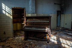Music Room (janet little jeffers) Tags: abandoned decay piano urbanexploration lonely urbex foresthaven