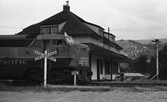 CPR #4105, Castlegar, BC (R R Horne) Tags: railroad station train bc railway depot canadianpacific cp cpr castlegar