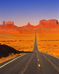 Desert highway (Milagros Mata-Gil) Tags: usa outdoors photography freedom landscapes utah colorphotography nobody transportation highways northamerica americana roads monumentvalley landforms naturalworld mesas valleys southwesternunitedstates americansouthwest coloradoplateau coloradoriverbasin monumentvalleynavajotribalpark navajoindianreservation sanjuancounty ushighway163 westernnorthamerica northamericacontinent rockymountainstates