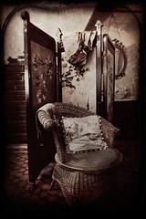 Victorian Dressing Room (EdBob) Tags: travel bw castle texture tourism asian island blackwhite britishcolumbia interior room capital 1800s victorian screen victoria vancouverisland dressingroom pacificnorthwest daguerreotype toned textured edmundlowe edlowe blinkagain allmyphotographsarecopyrightedandallrightsreservednoneofthesephotosmaybereproducedandorusedinanyformofpublicationprintortheinternetwithoutmywrittenpermission 2012edmundlowe edmundlowephotography edmundlowestudiosinc