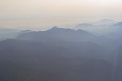 Aerial Slovenian Alps