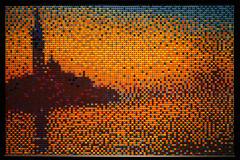 Sunset in Venice (ccho) Tags: nyc lego discovery claudemonet 2013 nathansawaya sunsetinvenice artofthebrick
