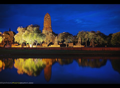 Finding my Light at Wat Phra Ram - Ayutthaya, Thailand (Sam Antonio Photography) Tags: old travel sky cloud holiday reflection tree brick monument nature water weather horizontal architecture night thailand outdoors temple photography worship asia southeastasia place dusk bangkok stupa traditional religion sightseeing culture peaceful tranquility kingdom buddhism nopeople location architectural journey thai styles destination ayuthaya lonely bluehour spirituality tradition wat exploration past built illuminate phra ayutthaya chedi placeofworship destinations mahathat prang thaiculture traveldestinations colorimage famousplace buildingexterior photographytips watphraram burmesearmy photolocation ayuthayahistoricalpark canoneos5dmarkii samantoniophotography thailandphotography southeastasiaphotography ayutthayaphotography bicycleinayutthaya kingborom
