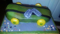 Skateboard cake by Amanda, Battle Creek, MI, www.birthdaycakaes4free.com