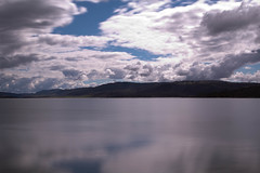 Lake Jindabyne (PhilliB123) Tags: trip lake water clouds canon reflections rocks 10 filter snowboard haida fstop jindabyne 600d nd1000 1585mm