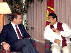 United Nations General Assembly - 61st Session (President Mahinda Rajapaksa) Tags: people lka united sl sri lanka un government srilanka ceylon jaffna nations colombo kilinochchi mahinda rajapaksa llrc rajapaka