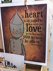 Tin Man Card (DollyBeMine) Tags: california cute art shop retail shopping toy store stuffed gallery handmade ooak crafts saying plush southern gifts card kawaii plushie orangecounty anaheim wizardofoz greeting tinman alittleknownshop