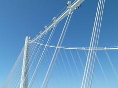 tower & cables (Jef Poskanzer) Tags: geotagged baybridge geo:lat=3781641 geo:lon=12235592