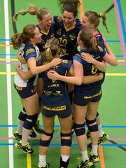 P1291323 (roel.ubels) Tags: sport utrecht volleyball vv volleybal 2015 beker galgenwaard topsport kwartfinale peelpush