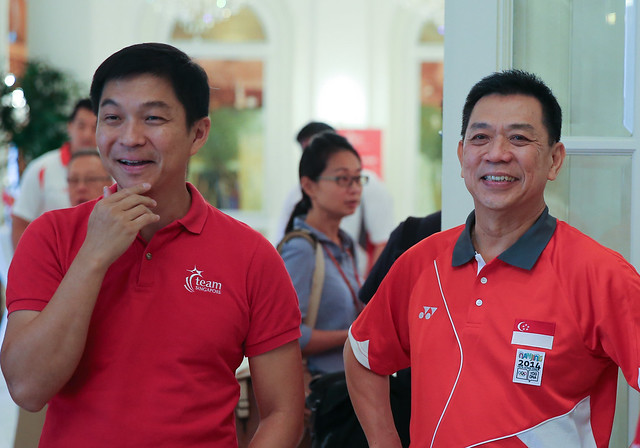 Team Singapore Athletes Visit To Istana