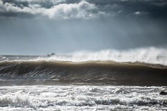 No takers (Tim Bow Photography) Tags: light storm water weather wales clouds dark surf waves offshore tube barrel surfing spray british welsh sunrays swell porthcawl thepoint notakers timboss81 timbowphotography