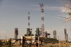 """Baikonur N-1 Launch Pad • <a style=""""font-size:0.8em;"""" href=""""http://www.flickr.com/photos/129739884@N05/16025218074/"""" target=""""_blank"""">View on Flickr</a>"""