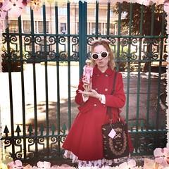 Toyssimi 2015 (Bunraku Doll) Tags: me doll barbie lolita blonde asuka redcoat 2015 oversizedsunglasses    toyssimi