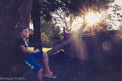29/365 (Megan Fralich) Tags: boy tree lensflare sunburst 265 sunflare