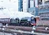 Positioning Move (Ian Chpman) Tags: warrington move steam locomotive sutherland positioning duchess 46233