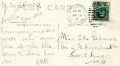 Sudbury Train PC 1912 Stamp (363FroodRd / 573PineSt) Tags: sudbury sudburyontario sudburyon