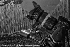 Cloud Time Lapse Camera Setup (weeviltwin) Tags: blackandwhite cloud clouds timelapse video band rubber gumband weshootcom