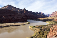 Evening on the River (isaac.borrego) Tags: arizona reflection water river nationalpark grandcanyon canyon coloradoriver canonrebelt4i