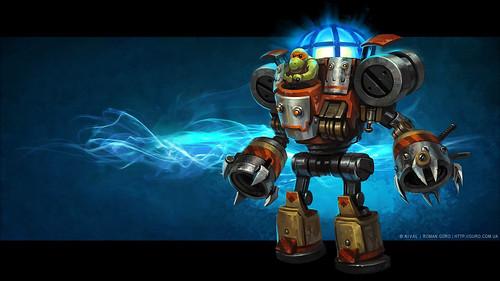 Робобот. Концепт для игры Prime World: Defenders