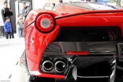 LaFerrari (mojo9434) Tags: show red toronto ontario canada cars car italian ferrari exotic hybrid supercar exotics cias canadianinternationalautoshow hypercar laferrari robertherjavec ferrarilaferrari cias2015