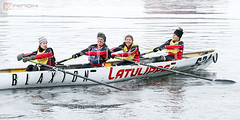 Canot  glace - Ice canoeing in Montreal (Nino H) Tags: canada ice sport race quebec montreal canoe canoeing canot glace