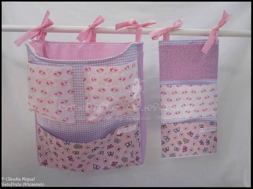 Conjunto tecido bebé A Fada e os pózinhos perlimpimpim lilás20
