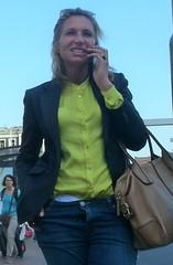 Jeans girl (Zangeressenlive) Tags: street girls hot cute sexy candid jeans denim tight herflyisopen