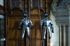 Edinburgh Castle, Great Hall (David_Leicafan) Tags: edinburghcastle armour greathall platearmour medievalarmour 50mmsummiluxv2 hippolytejblanc