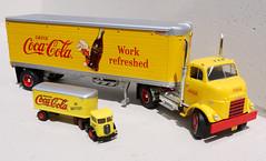 ERTL & AHL Coca-Cola (adrianz toyz) Tags: diecast toy model van cocacola coke ertl ahl haroy americanhighwaylegends mack cj gmc adrianztoyz
