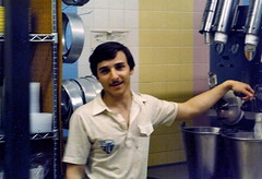 Ted at Carvel 1980s (Mr.TinDC) Tags: ted me portraits scanned mustache mrt carvel 1980s mrtindc