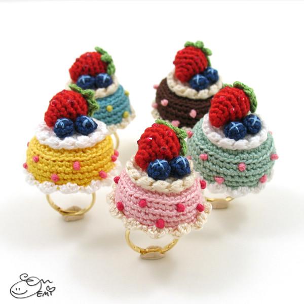 Kawaii Amigurumi Cupcake Keychain : The Worlds Best Photos of crochet and cupcake - Flickr ...