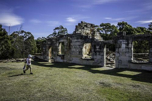 Saltwater River Coal Mines Historic Site #4. Tasman Peninsula