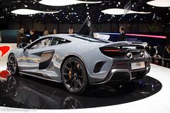 McLaren 675 LT GIMS (De Auto Jager) Tags: ford 6x6 mercedes benz focus nissan martin geneva superb mini mclaren porsche cooper toyota bmw civic cayman genve rs sway aston nsx p1 koenigsegg skoda gt4 typer brabus gtr lmp1 vanquish maybach nismo lagonda avensis gims auris g700 deautojager kevinsnijder