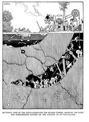 W Heath Robinson -Railway Ribaldry 1935 ill pg 57 (janwillemsen) Tags: cartoon railways 1935 williamheathrobinson