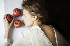 Persephone (yulia.longo) Tags: portrait woman art photography fineart fine pomegranate exhibition winner persephone