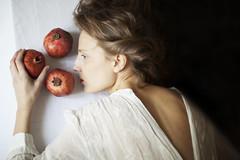 Persephone (yulia.longo) Tags: portrait woman art photography fineart fine pomegranate exhibition winner persephone