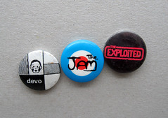 Vintage Pin Badges (The Moog Image Dump) Tags: vintage pin buttons button badges