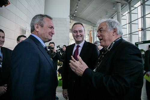 Ángel Villafranca, Alberto Fabra y José V. Torrent