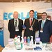 Showtel Martin McGough & Denis Bartley, Ecolab and Stephen McNally, IHF President