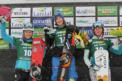 Siegerehrung Snowboard Weltcup PSL 2015