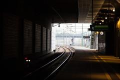 At the station (Infomastern) Tags: station trainstation malm hylliestation